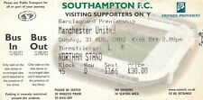Ticket - Southampton v Manchester United 31.08.03