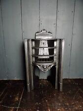 Original Antique Victorian Small Cast Iron Fireplace Insert (HB 278)