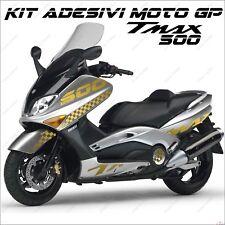 ADESIVI SPORT SCOOTER GRAFICA COMPATIBILE YAMAHA TMAX T MAX 500 01/07 ORO MOTO
