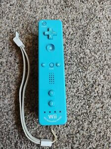 Official blue nintendo Wii motion plus controller