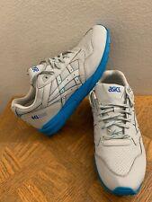 ASICS GEL Saga H649Y Retro Running Shoe Soft Grey Blue Men's Sz 13