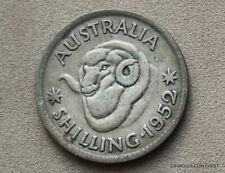 1952 SILVER SHILLING MERINO RAM  PREDECIMAL COIN  CIRCULATED #NTG30