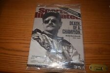 Dale Earnhardt Sports illustrated mag Feb 26, 2001:DEATH OF A CHAMPION NM NASCAR