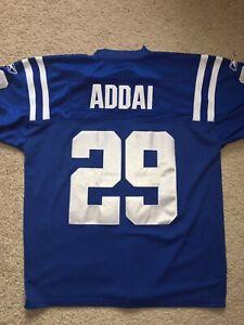 Joseph Addai Indianapolis Colts XL (48) Vintage Super Bowl XLI Jersey Stitched