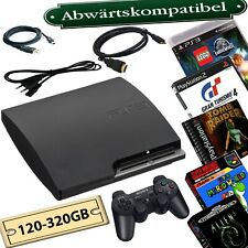 PlayStation 3 Slim 120GB-500GB Rebug CFW Abwärtskompatibel:PS3/PS2/PS1/SNES/SEGA
