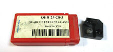 WSP Schneidenträger QER 25-20-3  Quadcut Ext. Cass  Skand.Tool Syst. Neu H19451