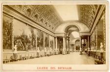 France, Versailles, la galerie des batailles vintage albumen print, Tirage a