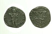 pcc1725_1) CASTIGLIONE Ferdinando I Gonzaga (1616-1678) Soldo, S. Nazario stante