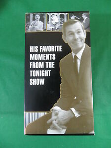 JOHNNY CARSON The Carson Collection 4 VHS  Carson Productions Group 2001