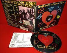 CD ANDY WOOD - IN MEMORY - TEMPLE OF THE DOG - MALFUNKSHUN - MOTHER LOVE BONE