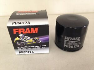 USA Fram Factory Fresh PH6017A Motorcycle Cycle ATV Marine Oil Filter fits MANY!