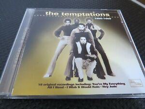 THE TEMPTATIONS - 1966 - 1969.  2000  18 TRACK CD ALBUM