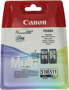 Canon Ink Cartridge PG-510/CL-511 BK/C/M/Y Multipack