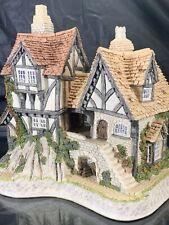 David Winter Cottages Will-o-the Wisp 1991 Guild Piece # 10 Nib Coa Nice