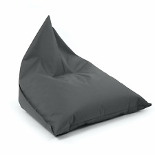 mokebo Outdoor Sitzsack Der Sommerschlitten Bean Bag Outdoorstoff Anthrazit CH