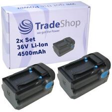 2x AKKU 36V 4500mAh für Hilti TE6A TE7A TE-6-A TE-7-A Bohrmaschine battery