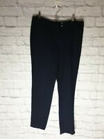 Ladies smart Navy Trousers Size 10 NEXT C2087