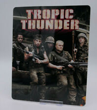 TROPIC THUNDER - Glossy Bluray Steelbook Magnet Cover (NOT LENTICULAR)