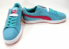 Puma Shoes Classic Suede Light Baby Blue Sneakers Size 10