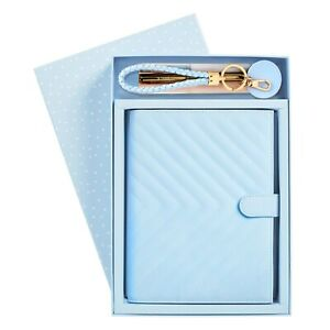 KIKKI.KNOTEWORTHY GIFT PACK BLUEBELL A5 Quilted Notebook Planner