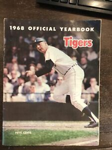 1968 Detroit Tigers Official Yearbook World Series Champs See Photos *Noles2148*