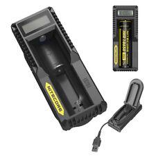 Nitecore UM10 USB Digital Charger Li-ion 18650 18500 16340 14500 18350 10440 IMR