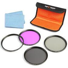 40.5mm UV CP FLD ND4 Filter Kit Case for Samsung 20-50mm Lens DSLR K&F Concept