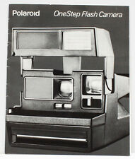 Polaroid One Step Flash Instant Film Camera Manual Guide English