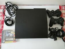 Sony Play Station  PS-3 Slim 160GB Console Bundle w/ Game and Accessories Tested