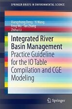 Integrated River Basin Management: Practice Guideline for the IO Table