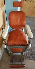 Theo A. Kochs Antique Barber Chair, Chicago Company