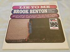 BROOK BENTON Lie To Me... Singing The Blues NEW/SEALED 180gram LP 1962 SOUL R&B