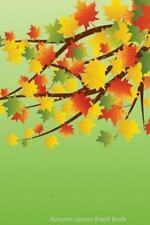 Autumn Leaves Blank Book by J. Simmons (2014, Paperback)