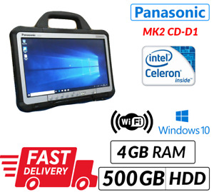 "MK2 PANASONIC TOUGHBOOK CF-D1 13.3"" TABLET 4GB 500GB WIN 10 