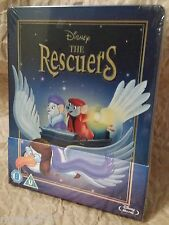 Walt Disney THE RESCUERS Blu-Ray Zavvi U.K. Limited Edition STEELBOOK OOP