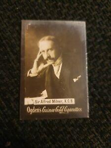 Ogden's Guinea Gold Cigarette Card - Sir Alfred Milner K.C.B.