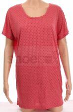 Nike Women's Size S/M Club Boyfriend Red Polka Dot Dri-Fit T Shirt 637555 647