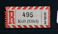 70541) Reco-Zettel AKZ 8D3 Kall (Eifel)