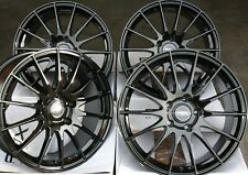 "18"" B FX004 ALLOY WHEELS FOR VW BORA CORRADO FOX GOLF MK4 BEETLE POLO 6R 5X100"