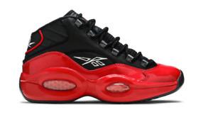 Reebok Question Mid Street Sleigh 76ers Bred Basketball Shoes G57551 Men's 14