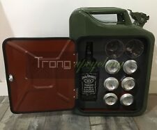 The New Jerry Can Mini Bar, Picnic, Camping, Camper,VW,4x4,Drinks Cabinet,Green
