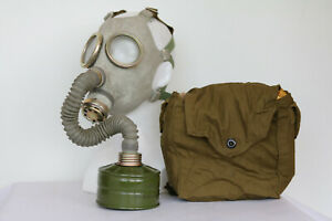 Russian USSR military Gas Mask PDF-7 with filter and bag authentic