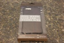 RECOVER REAL WOOD CASE FOR IPHONE 6/6S EBONY 106953-1 (J) BBB-5 [#23]