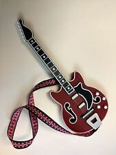 Barbie size guitar -  musical instrument - (1/6) scale - hard plastic - nice!