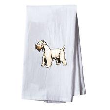 Irish Soft Coated Wheaten Terrier Dish Flour Sack Kitchen Towel