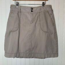 Ibex organic cotton knee length a-line skirt size 10