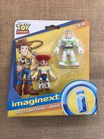 Imaginext - Toy Story 4 - Disney Pixar - Buzz Lightyear & Jessie Figures