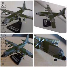 Lockheed c-130 h Hercules metal 1:144 DIECAST transporte militar avión
