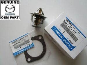 Mazda RX7 FC S4 1986-1988 NEW Genuine OEM Thermostat and Gasket