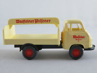 """Wiking 343 Hanomag Kurier Getränkewagen (1958) """"Warsteiner Pilsener"""" 1:87/H0 NEU"""